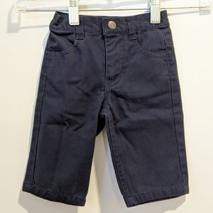 2/$20 Nautica navy blue pants 3/6 month